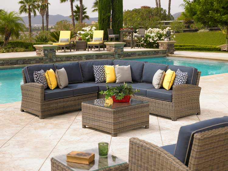 Todd Singer 2 4 All American Pool, Sectional Patio Furniture Clearance