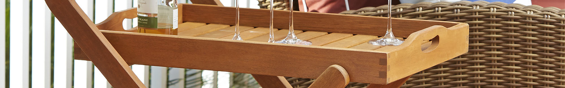 Outdoor Serving Carts