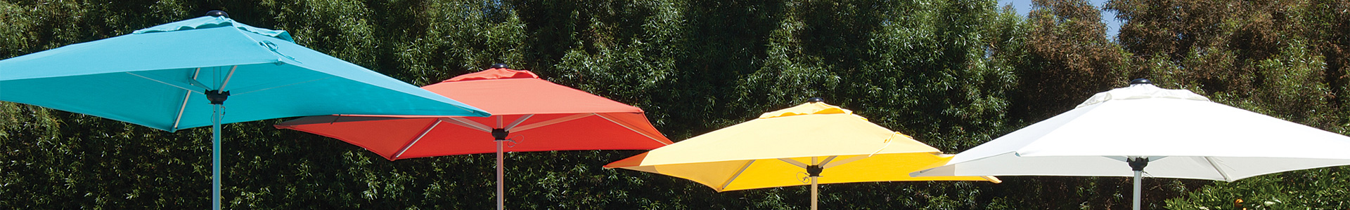 Button Tilt Market Umbrellas