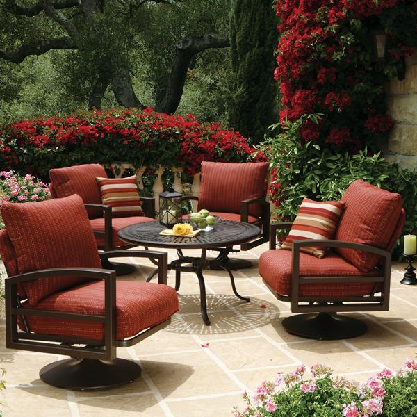 Patio Furniture Catalog: Luxury Patio Furniture Brands
