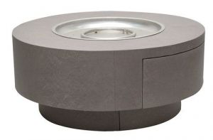 Alumi-Crete Round Firepit - 34 Inches