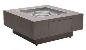 Alumi-Crete Square Firepit - 42 Inches