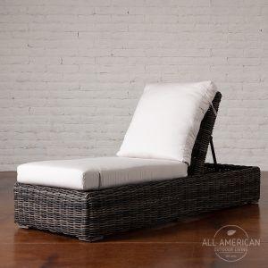 Roma Chaise Lounge Chair w/ Cushion