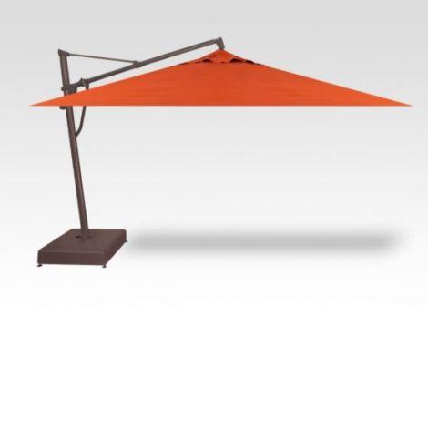 10' x 13' Plus Rectangle Cantilevered Outdoor Patio Umbrella