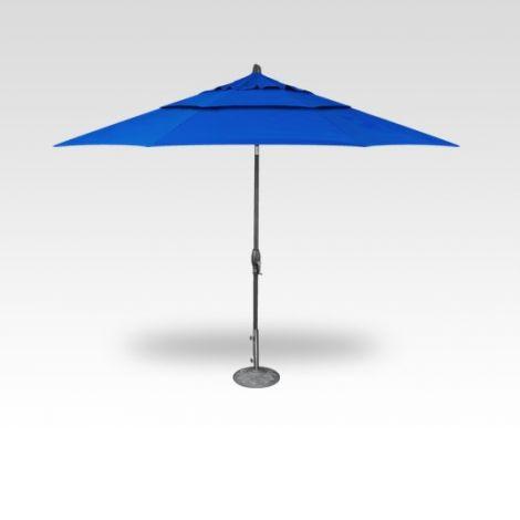 11' Auto Tilt Market Umbrella - Cobalt