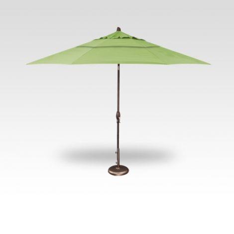 11' Auto Tilt Market Umbrella - Kiwi