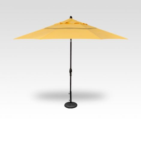 11' Auto Tilt Market Umbrella - Lemon