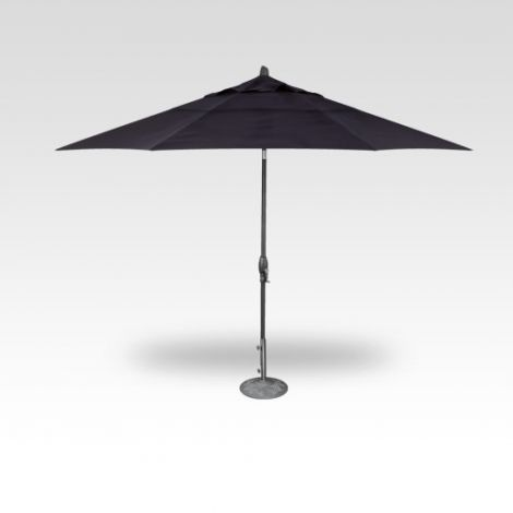 11' Auto Tilt Market Umbrella - Navy