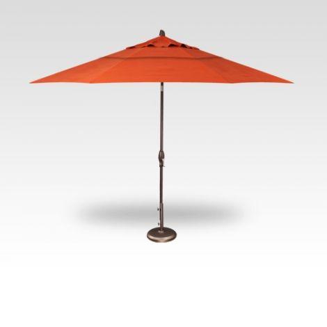 11' Auto Tilt Market Umbrella - Sunset