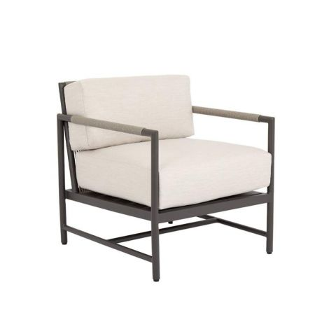 Pietra Woven Rope Club Chair