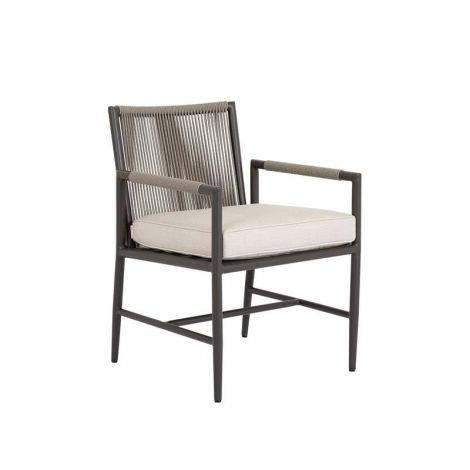 Pietra Woven Rope Dining Chair