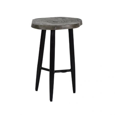 Nature's Wood Occasional Table - 17 Inch