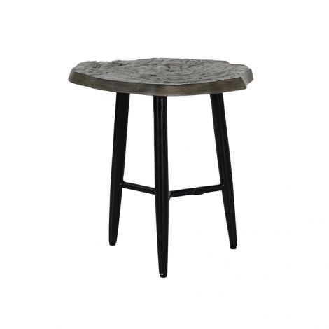 Nature's Wood Side Table - 20 Inch