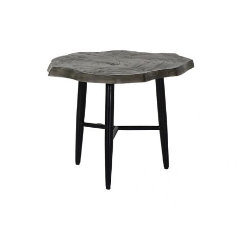 Nature's Wood Side Table - 23 Inch