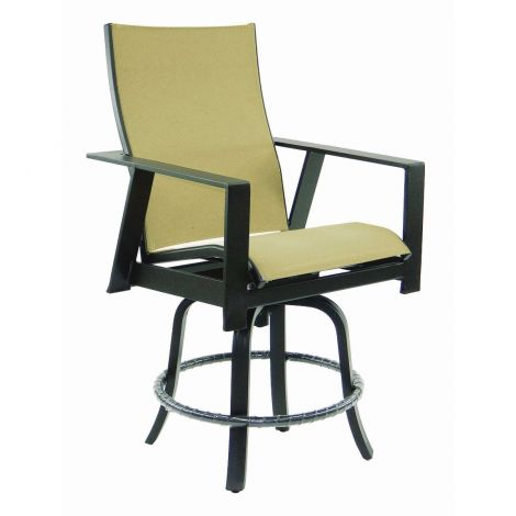 Trento Sling Swivel Counter Stool