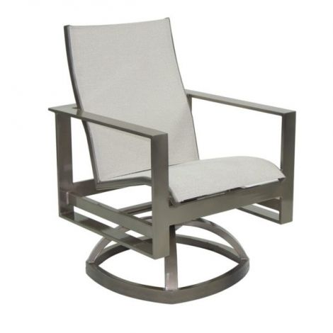 Park Place Sling Swivel Rocker