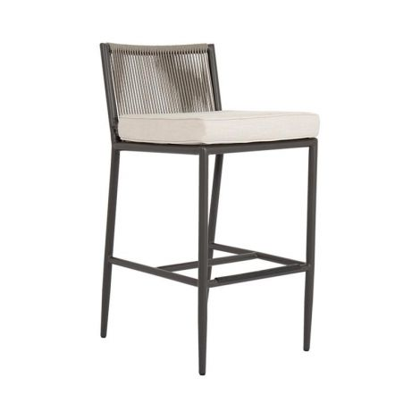 Pietra Woven Rope Bar Stool