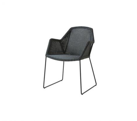 Breeze Sled-Base Arm Chair