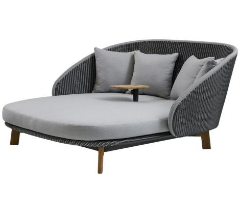 Peacock Woven Teak DayBed