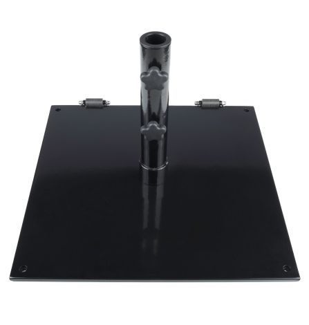 75 lb. Steel Plate Umbrella Base w/Wheels
