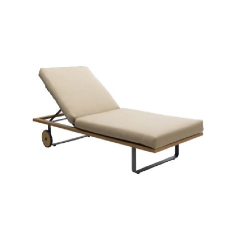 Aspen Chaise Lounge w/Wheels