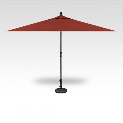 8' x 10' Auto Tilt Umbrella - Auburn