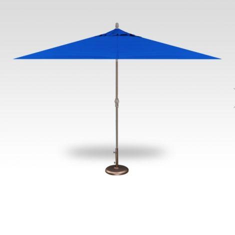 8' x 10' Auto Tilt Umbrella - Cobalt