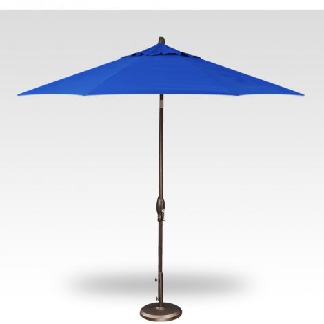 Button Tilt Market Umbrella - Cobalt