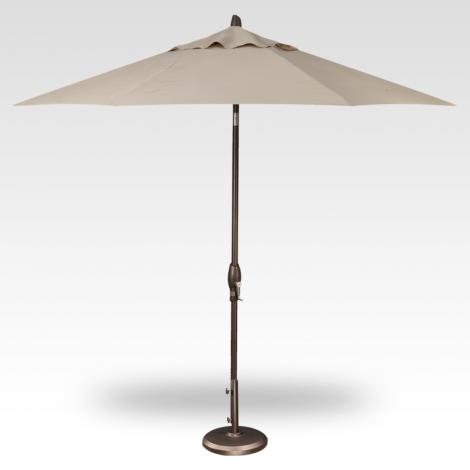 Button Tilt Market Umbrella - Khaki