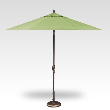 Button Tilt Market Umbrella - Kiwi
