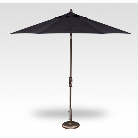 Button Tilt Market Umbrella - Navy