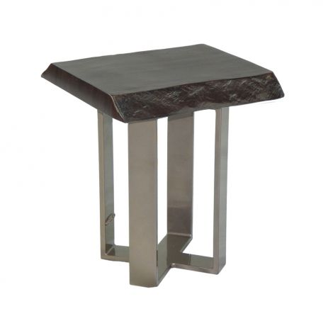 16 Inch Moderna Square Side Table