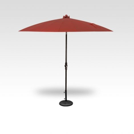 10' Shanghai Auto Tilt Umbrella - Auburn