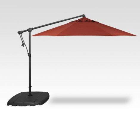 10' Octagon Cantilevered Umbrella - Auburn