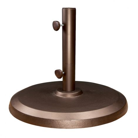 150lb. Garden Commercial Umbrella Base - Bronze