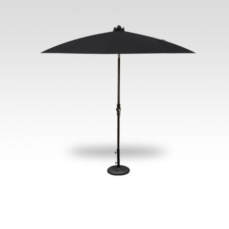 10' Shanghai Auto Tilt Umbrella - Black