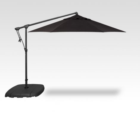 10' Octagon Cantilevered Umbrella - Black