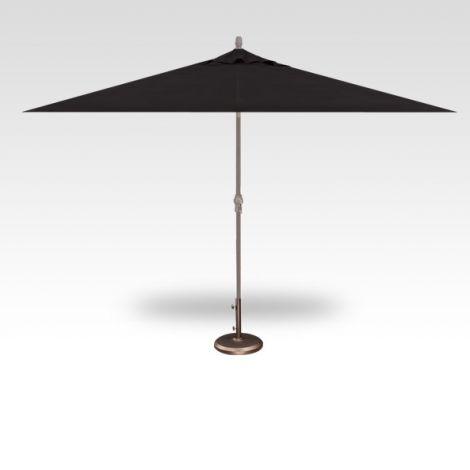 8' x 10' Auto Tilt Umbrella - Black