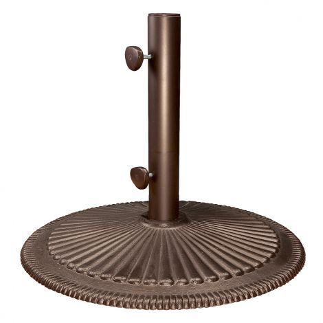 Classic Umbrella Base - Bronze