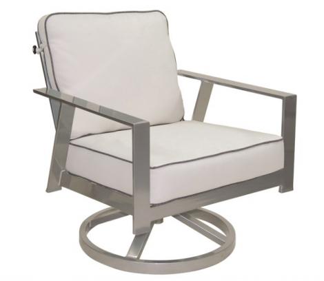 Trento Cushion Lounge Swivel Rocker