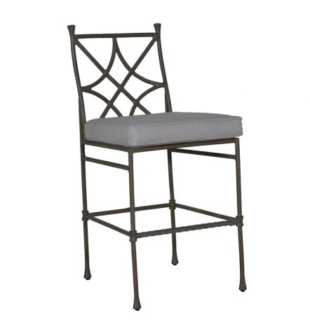 Bordeaux Armless Bar Stool