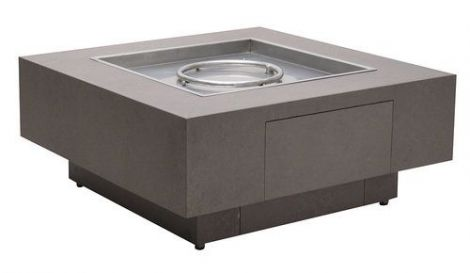 Alumi-Crete Square Firepit - 42 Inches