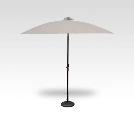 10' Shanghai Auto Tilt Umbrella - Champagne
