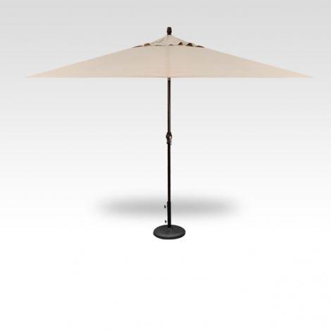 8' x 10' Auto Tilt Umbrella - Champagne