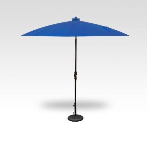 10' Shanghai Auto Tilt Umbrella - Cobalt