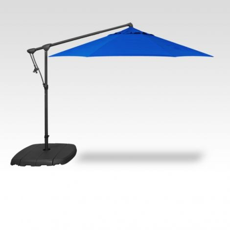 10' Octagon Cantilevered Umbrella - Cobalt