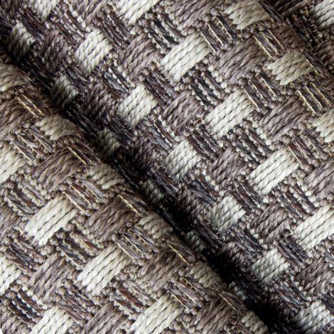 Cobblestone Gray Outdoor Rug
