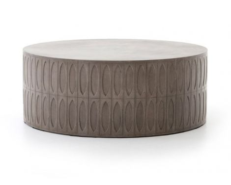 Maska Drum Coffee Table