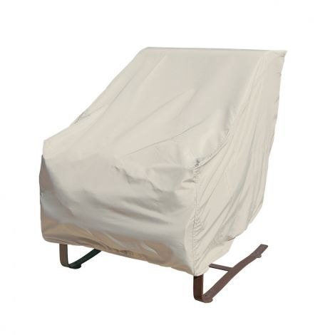 High Back Chair Cover with Elastic