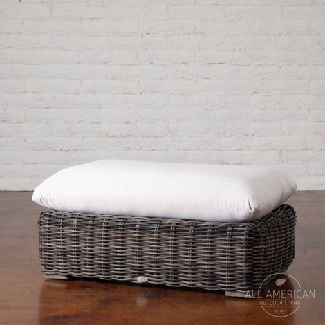 Havana Grande Ottoman w/ Cushion